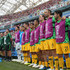 Jamie Maclaren Photos - The Australia substitute line up for national anthem prior to the 2018 FIFA World Cup Russia group C match between Australia and Peru at Fisht Stadium on June 26, 2018 in Sochi, Russia. - Australia Vs. Peru: Group C - 2018 FIFA World Cup Russia
