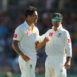 Ricky Ponting and Mitchell Johnson