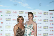 Lucy Lawless and Danielle Cormack arrive ahead of the Australian LGBTI Awards 2017 at Sydney Opera House on March 2, 2017 in Sydney, Australia.