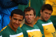 Tim Cahill and Harry Kewell Photos Photo