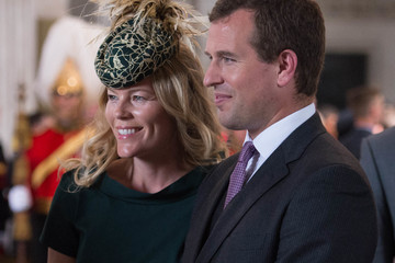 Autumn Phillips National Service Of Thanksgiving To Celebrate The Queen's 90th Birthday