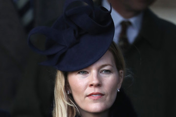 Autumn Phillips The Royal Family Attend Church On Christmas Day