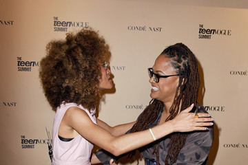 Ava DuVernay The Teen Vogue Summit LA: Keynote Conversation With 'A Wrinkle In Time' Director Ava Duvernay and Actresses Rowan Blanchard and Storm Reid
