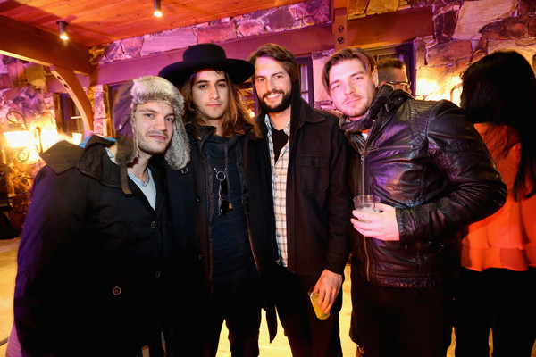 Black Label Media Hosts A Party For The Art of Elysium And Elysium Industry With Guest Host James Franco - 2015 Park City [james franco,guest host,avan jogia,brinton bryan,emile hirsch,event,fun,party,leisure,performance,nightclub,park city,black label media hosts a party for the art of elysium,elysium industry with,party,black label media]