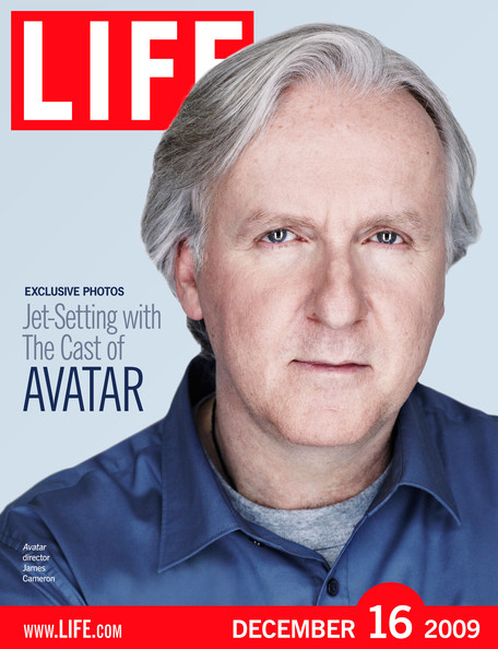 James cameron in this handout image provided by life com director