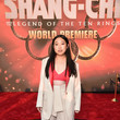 Awkwafina Shang-Chi And The Legend Of The Ten Rings World Premiere