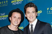 Actors Kenny Wormald and Miles Teller attend the 'That Awkward Moment' screening at Sunshine Landmark on January 22, 2014 in New York City.