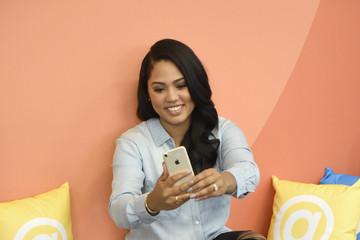 Ayesha Curry Food Network & Cooking Channel New York City Wine & Food Festival Presented by Coca-Cola