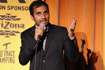 Aziz Ansari Hilarity for Charity NYC Cocktail Party