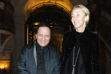 Azzedine Alaia Atelier Versace : Front Row - Paris Fashion Week - Haute Couture S/S 2014