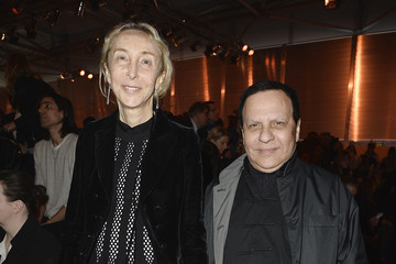 Azzedine Alaia Louis Vuitton : Front Row  - Paris Fashion Week Womenswear Fall/Winter 2014-2015