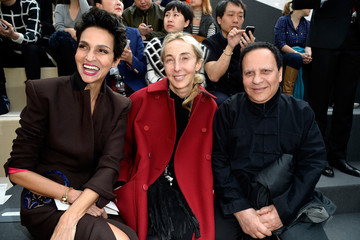 Azzedine Alaia Front Row at Louis Vuitton