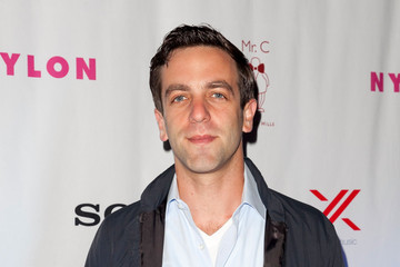 B.J. Novak NYLON And Sony X Headphones September TV Issue Party Hosted By Lea Michele