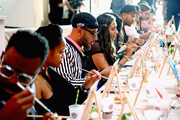 Swizz Beatz attends No Commission: Miami presented by BACARDÃ? x The Dean Collection on December 7, 201 at Faena Forum on December 7, 2018 in Miami Beach, Florida.