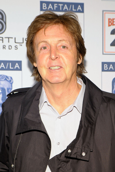 Paul McCartney Musician Paul McCartney arrives at the BAFTA/LA 16th Annual Awards Season Tea Party, held at the Beverly Hills Hotel on January 16, 2010 in Beverly Hills, California.