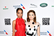(L-R) Hayley Law and Jessica Barden attend the BAFTA Los Angeles + BBC America TV Tea Party 2019 at The Beverly Hilton Hotel on September 21, 2019 in Beverly Hills, California.