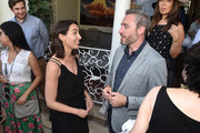 Netflix VP of Original Series, Nina Wolarsky and British Consul General to Los Angeles, Michael Howells attend the BAFTALA Summer Garden Party at The British Residence on August 19, 2018 in Los Angeles, California.