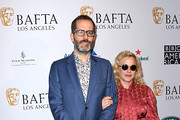 (L-R) Eric White and Patricia Arquette attend The BAFTA Los Angeles Tea Party at Four Seasons Hotel Los Angeles at Beverly Hills on January 04, 2020 in Los Angeles, California.