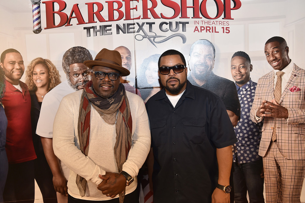 Pictures Barbershop: The Next Cut Atlanta VIP Screening With Cast ...