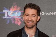 """Matthew Morrison attends a photocall for the BBC's """"The Greatest Dancer"""" at The May Fair Hotel on December 10, 2018 in London, England."""