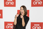"Suranne Jones attends the BBC One's ""Gentleman Jack"" photocall at Ham Yard Hotel on May 07, 2019 in London, England."