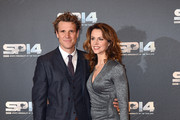 James Cracknell and Beverley Turner attend the BBC Sports Personality of the Year awards at The Hydro on December 14, 2014 in Glasgow, Scotland.