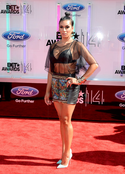 TV personality Laura Govan attends the BET AWARDS '14 at Nokia Theatre L.A. LIVE on June 29, 2014 in Los Angeles, California.
