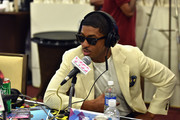 Fonzworth Bentley attends day 2 of the Radio Broadcast Center during the BET Awards '14 on June 28, 2014 in Los Angeles, California.