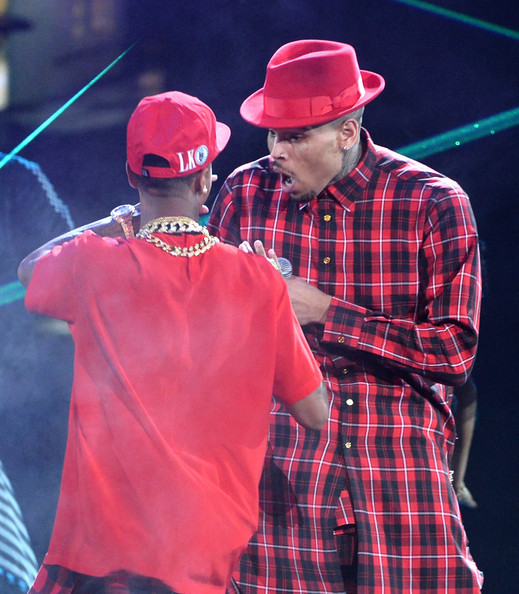 Chris Brown Bet Awards 2014