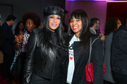 """(L-R) Sheree Zampino and Mechelle McCain attend BET's """"American Soul"""" Los Angeles Premiere on February 04, 2019 in North Hollywood, California."""