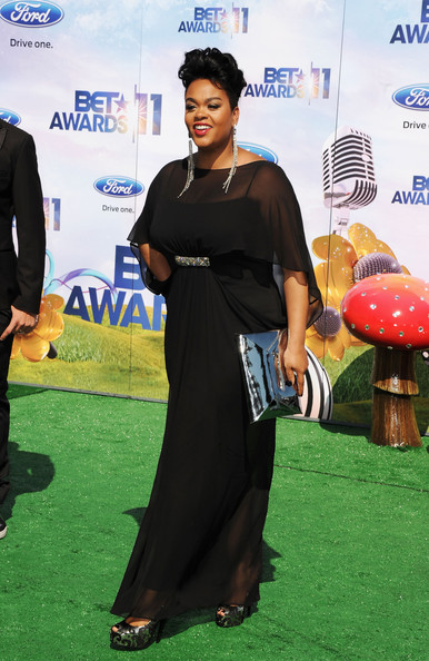 Singer Jill Scott arrives at the BET Awards '11 held at the Shrine Auditorium on June 26, 2011 in Los Angeles, California.