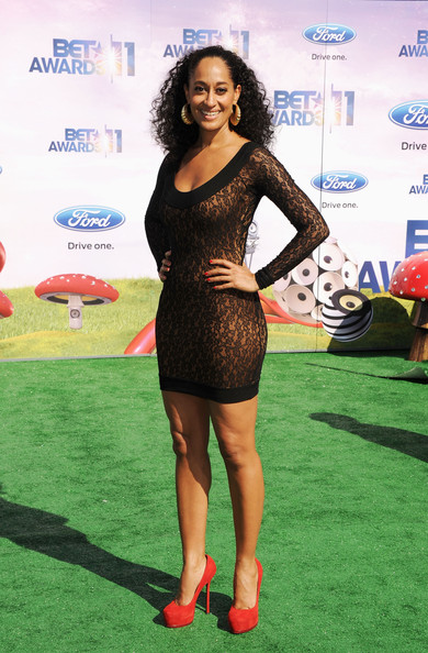 Actress Tracee Ellis Ross arrives at the BET Awards '11 held at the Shrine Auditorium on June 26, 2011 in Los Angeles, California.