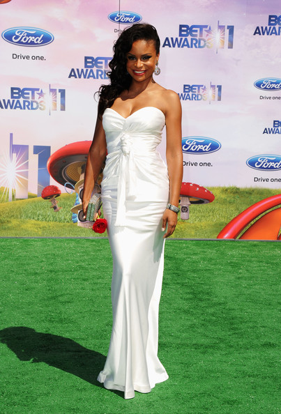 Actress Joyful Drake arrives at the BET Awards '11 held at the Shrine Auditorium on June 26, 2011 in Los Angeles, California.