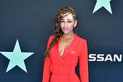 Meagan Good attends the 2019 BET Awards on June 23, 2019 in Los Angeles, California.
