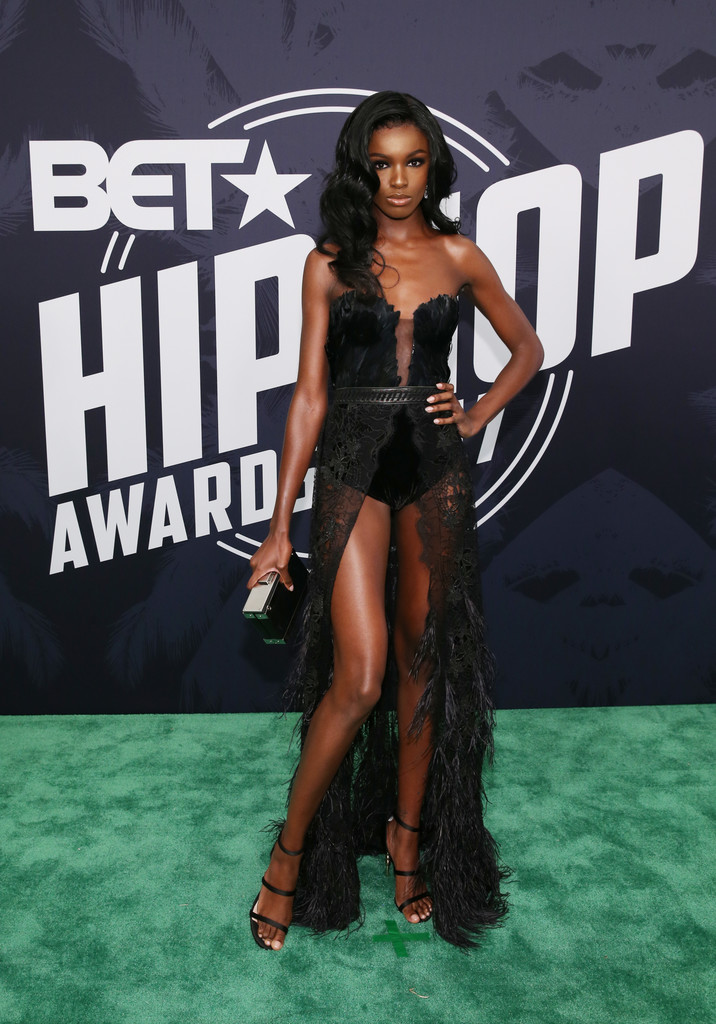 Leomie Anderson Photos Photos Bet Hip Hop Awards 2017