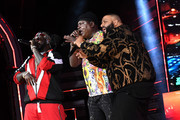 T-Pain, Trick Daddy and DJ Khaled perform onstage during the BET Hip Hop Awards 2017 at The Fillmore Miami Beach at the Jackie Gleason Theater on October 6, 2017 in Miami Beach, Florida.