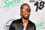 TV personality Safaree Samuel attends the BET Hip Hop Awards 2018 at Fillmore Miami Beach on October 6, 2018 in Miami Beach, Florida.