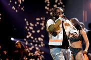 T-Pain performs onstage at the BET Hip Hop Awards 2019 at Cobb Energy Center on October 05, 2019 in Atlanta, Georgia.
