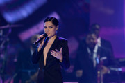 Jessie J performs onstage at the 2017 Soul Train Awards, presented by BET, at the Orleans Arena on November 5, 2017 in Las Vegas, Nevada.