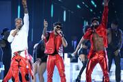 (L-R) BJ The Chicago Kid, Ro James, and Luke James perform onstage at the 2019 Soul Train Awards presented by BET at the Orleans Arena on November 17, 2019 in Las Vegas, Nevada.