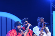 (L-R) Luke James, Ro James, and BJ The Chicago Kid perform onstage at the 2019 Soul Train Awards presented by BET at the Orleans Arena on November 17, 2019 in Las Vegas, Nevada.