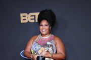 Lizzo poses with the Entertainer of the Year award at the 51st NAACP Image Awards, Presented by BET, at Pasadena Civic Auditorium on February 22, 2020 in Pasadena, California. (Photo by Robin L Marshall/Getty Images for BET)Entertainer of the Year