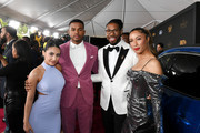 (L-R) Francia Raisa, Trevor Jackson, Matthew A. Cherry, and Candice Wilson attend the 51st NAACP Image Awards, Presented by BET, at Pasadena Civic Auditorium on February 22, 2020 in Pasadena, California.