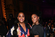 (L-R) Jill Scott and Janelle Monáe attend the 51st NAACP Image Awards, Presented by BET, at Pasadena Civic Auditorium on February 22, 2020 in Pasadena, California. (Photo by Paras Griffin/Getty Images for BET)Jill Scott