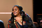 <<enter caption here>> speaks onstage during the 51st NAACP Image Awards, Presented by BET, at Pasadena Civic Auditorium on February 22, 2020 in Pasadena, California.