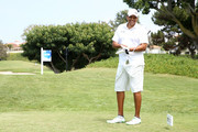 Former NBA player Reggie Theus attends the BETX Celebrity Golf Classic at Monarch Beach Golf Course on June 23, 2017 in Dana Point, California.