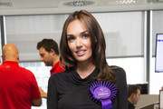 Tamara Ecclestone attends the annual BGC Global Charity Day at BGC Partners on September 11, 2014 in London, England.