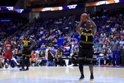 Chauncey Billups #1 of the Killer 3s attempts a free throw against Tri-State during week three of the BIG3 three on three basketball league at BOK Center on July 9, 2017 in Tulsa, Oklahoma.