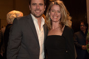 Actor Charles Esten and Patty Hanson attend the BMI 2014 Country Awards at BMI on November 3, 2014 in Nashville, Tennessee.