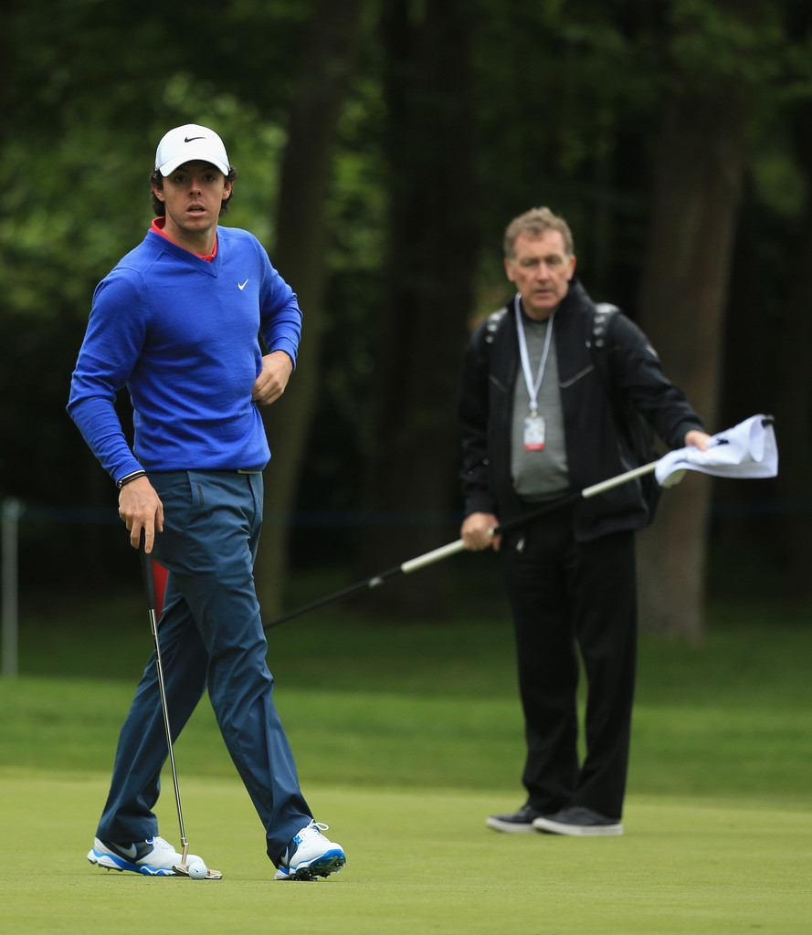 Rory Mcilroy Michael Bannon Harry Diamond Rory Mcilroy And Michael Bannon Photos Zimbio